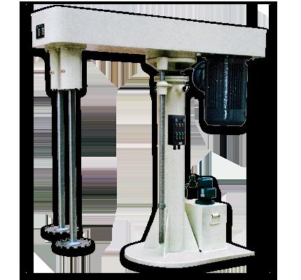 Double-Axle Dispersion Machine