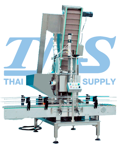 Pneumatic single head capping machine