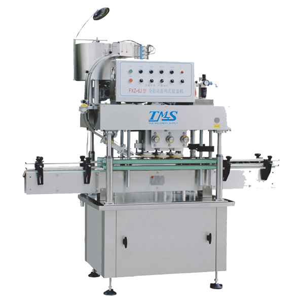 In-line Structure Capping Machine
