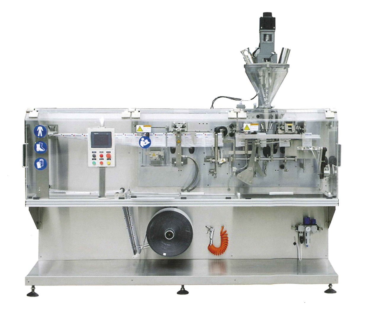 Horizontal Automatic Pouches Packaging Machine (เครื่องบรรจุแนวนอน)