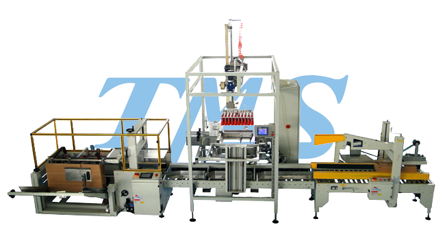 Fully automatic sealing machine out of the box packing